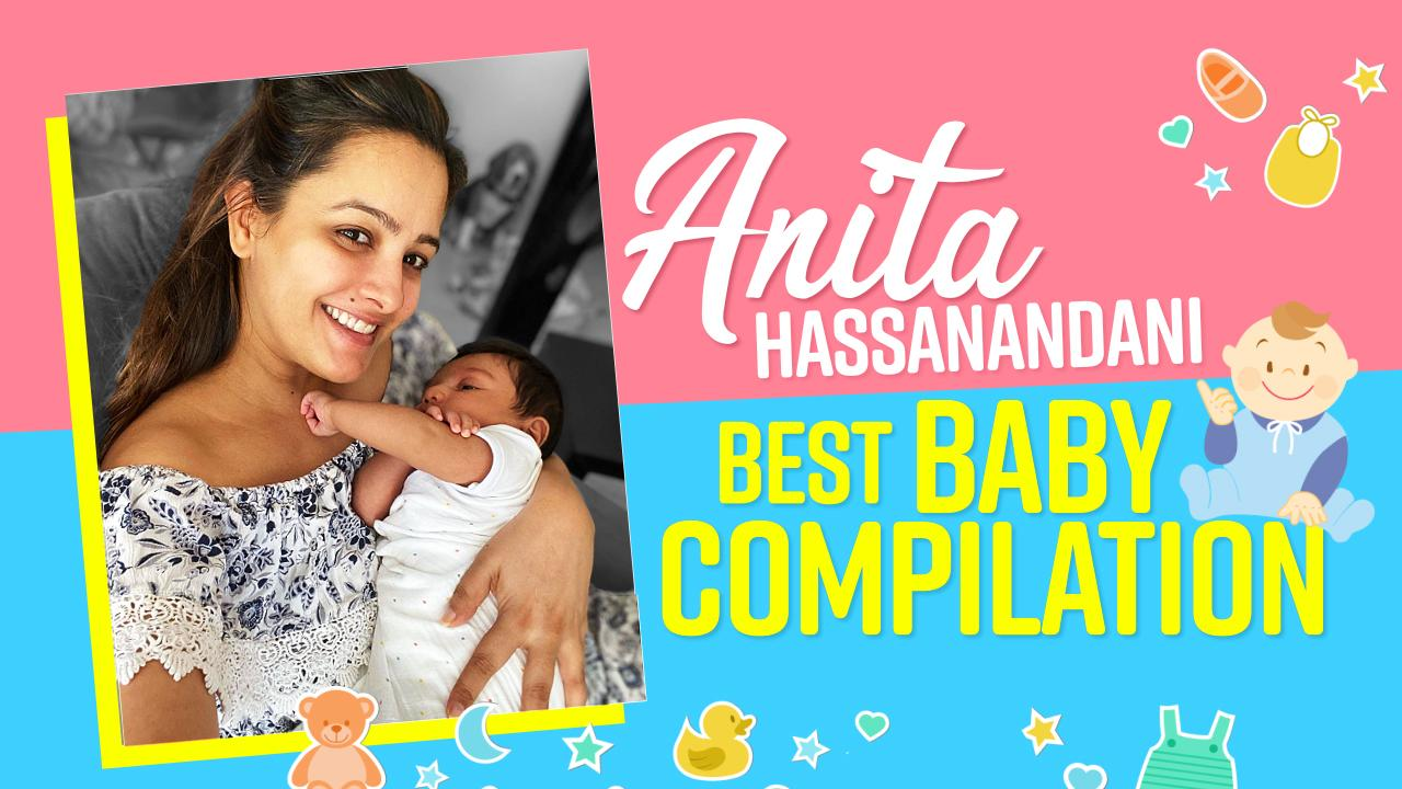 Happy birthday, Anita Hassanandani: Watch the newbie mommy's cutest moments with son Aaravv Reddy