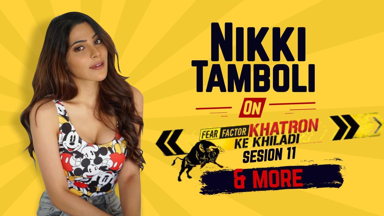 Khatron Ke Khiladi 11: Nikki Tamboli कुछ इस तरह कर रही हैं Rahul Vaidya और Abhinav Shukla को पटखनी देने की तैयारी, देखें वीडियो [EXCLUSIVE]